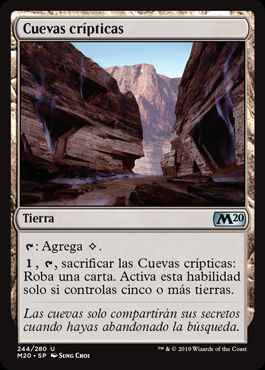 Cuevas crípticas / Cryptic Caves