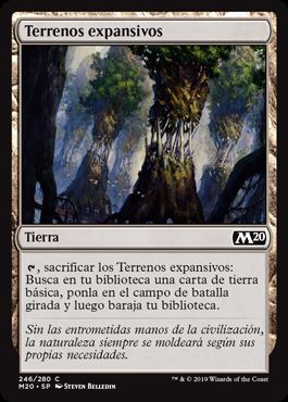 Terrenos expansivos / Evolving Wilds