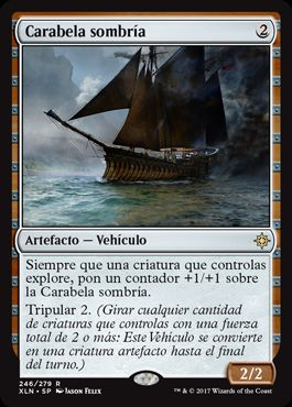 Carabela sombría / Shadowed Caravel