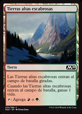 Tierras altas escabrosas / Rugged Highlands