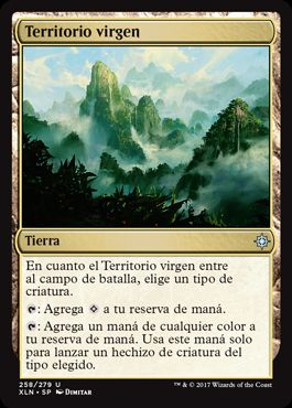 Territorio virgen / Unclaimed Territory