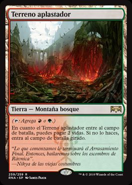 Terreno aplastador / Stomping Ground