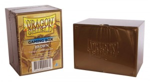 Dragon Shield - Deck Box Acrilico Marron 100+