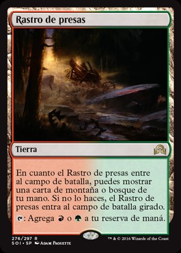 Rastro de presas / Game Trail