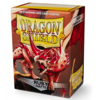 Dragon Shield - Fundas Ruby Matte