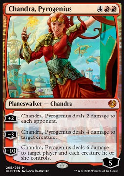 Chandra, pirogenia / Chandra, Pyrogenius