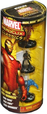 Marvel Heroclix Classics - Iron Man vs Iron Monger Battle Pack