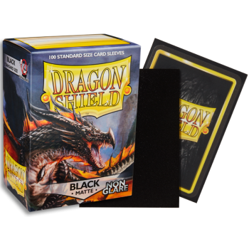 Dragon Shield - Fundas Matte - Non-glare - Black (100)