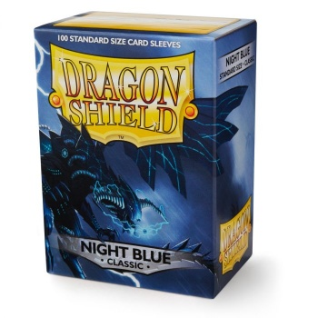 Dragon Shield - Fundas Night Blue (100)