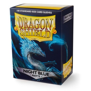 Dragon Shield - Fundas Night Blue Matte