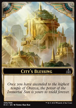 Token bendicion de ciudad / City's Blessing Token