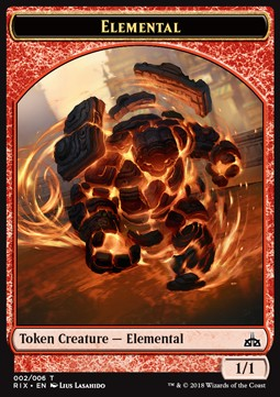 Elemental Token Nº002