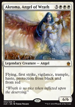 Akroma, ángel de ira / Akroma, Angel of Wrath