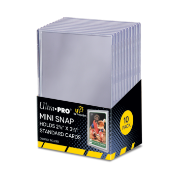 Ultra Pro - Mini Snap Card Holder (10ct Pack)