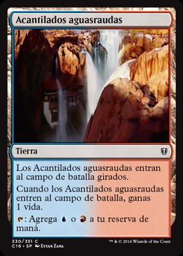 Acantilados aguasraudas / Swiftwater Cliffs