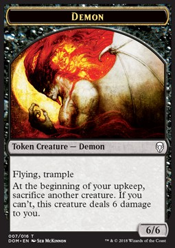 Token Demonio / Demon Token