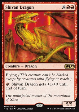 Dragón shivano / Shivan Dragon
