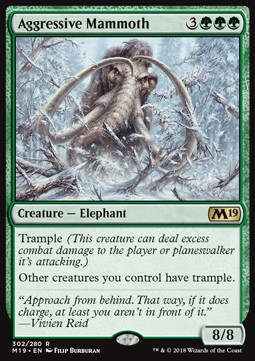 Mamut agresivo / Aggressive Mammoth
