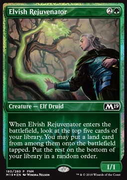 Elvish Rejuvenator **PROMO**