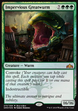 Megasierpe imperturbable / Impervious Greatwurm **PROMO**