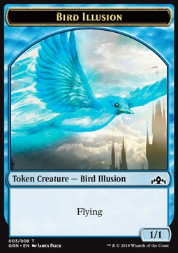 Token Ilusion ave / Bird Illusion Token