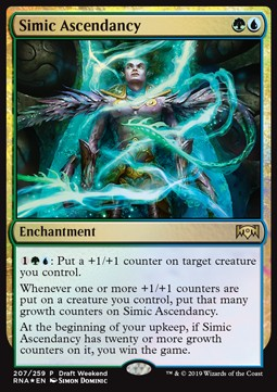 Supremacía simic / Simic Ascendancy **PROMO**