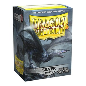 Dragon Shield - Fundas Matte - Non-glare - Silver (100)