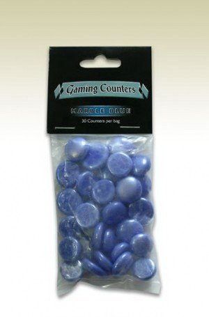 Arcane Tinmen - Counters Marble Blue (30)