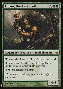Thrun, el último trol / Thrun, the Last Troll