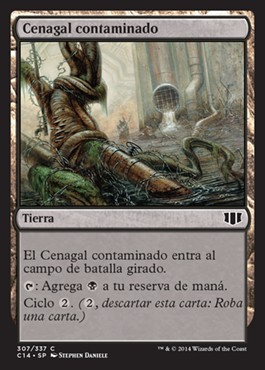 Cenagal contaminado / Polluted Mire
