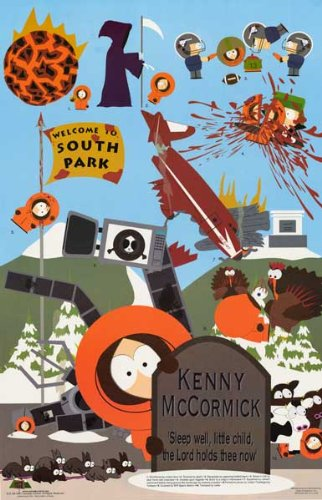 South Park: Poster Kenny's Death (98x68)