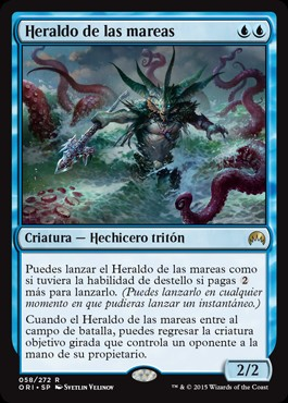 Heraldo de las mareas / Harbinger of the Tides
