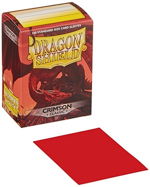 Dragon Shield - Fundas Crimson