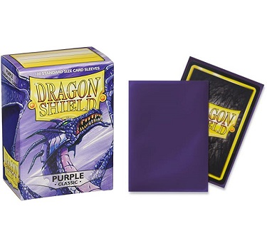 Dragon Shield - Fundas Purple