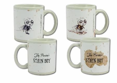 Tim Burton: Heat Sensitive Mug - Stan Boy
