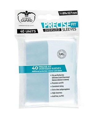 Ultimate Guard - Precise Fit Sleeves Oversized 89x127 (40 uds.)