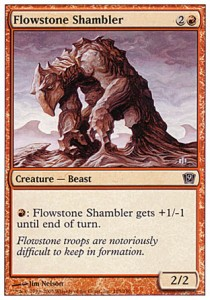 Arrastrapies de piedra variable / Flowstone Shambler