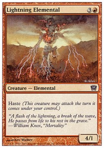 Elemental de rayos / Lightning Elemental