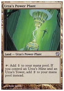 Central de energía de Urza / Urza's Power Plant