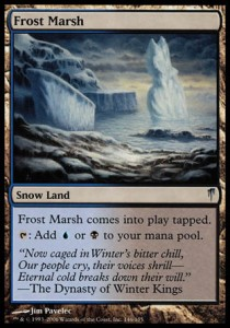 Cenagal escarchado / Frost Marsh