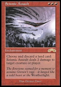Asalto sismico / Seismic Assault