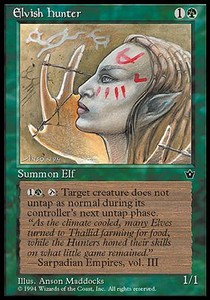 Elvish Hunter / Elvish Hunter v.2