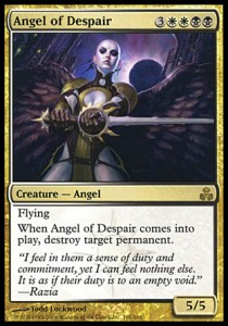 Ángel de desesperación / Angel of Despair