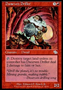 Barrenero Enano / Dwarven Driller