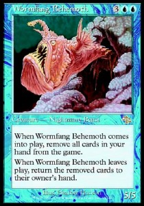 Behemot Colmillolombriz / Wormfang Behemoth