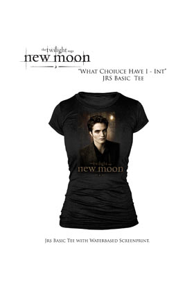 Twilight: T-shirt Edward - Girl - Black (Size M)