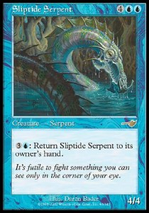 Serpiente escurridiza / Sliptide Serpent