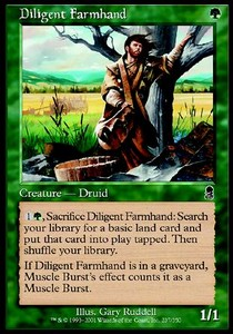 Agricultor activo / Diligent Farmhand