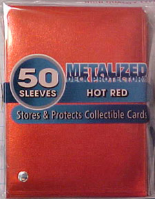 Ultra Pro - Metalized Hot Red 50ct.
