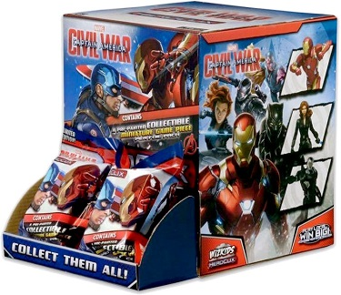 Marvel Heroclix: Captain America Civil War - Gravity Feed Booste
